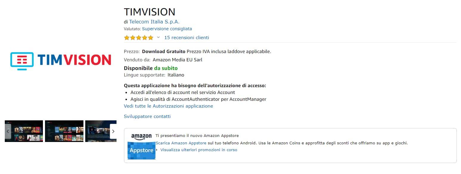 SCARICA TIMVISION SU PS4