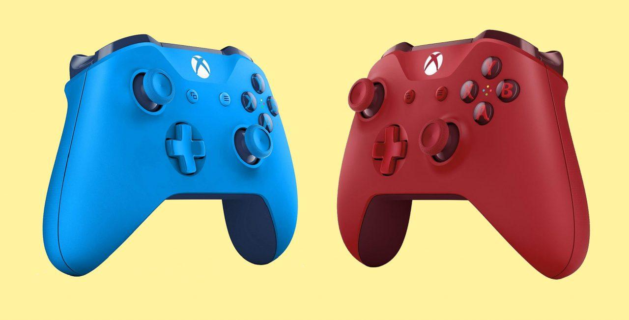 Rosso o azzurro? Sconti di tutti i colori per i Controller Wireless Xbox One