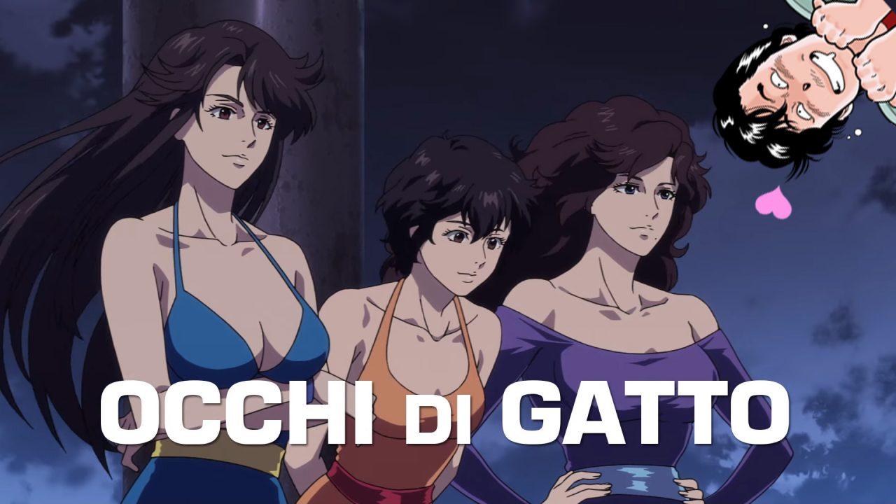 City Hunter in arrivo nei cinema italiani in un crossover con Occhi di Gatto!