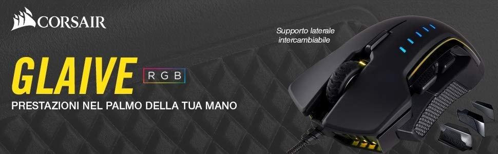 Corsair Glaive RGB al miglior prezzo mai visto su Amazon: mouse gaming con sensore a 16.000 DPI - image Corsair-Glaive-RGB on https://www.zxbyte.com