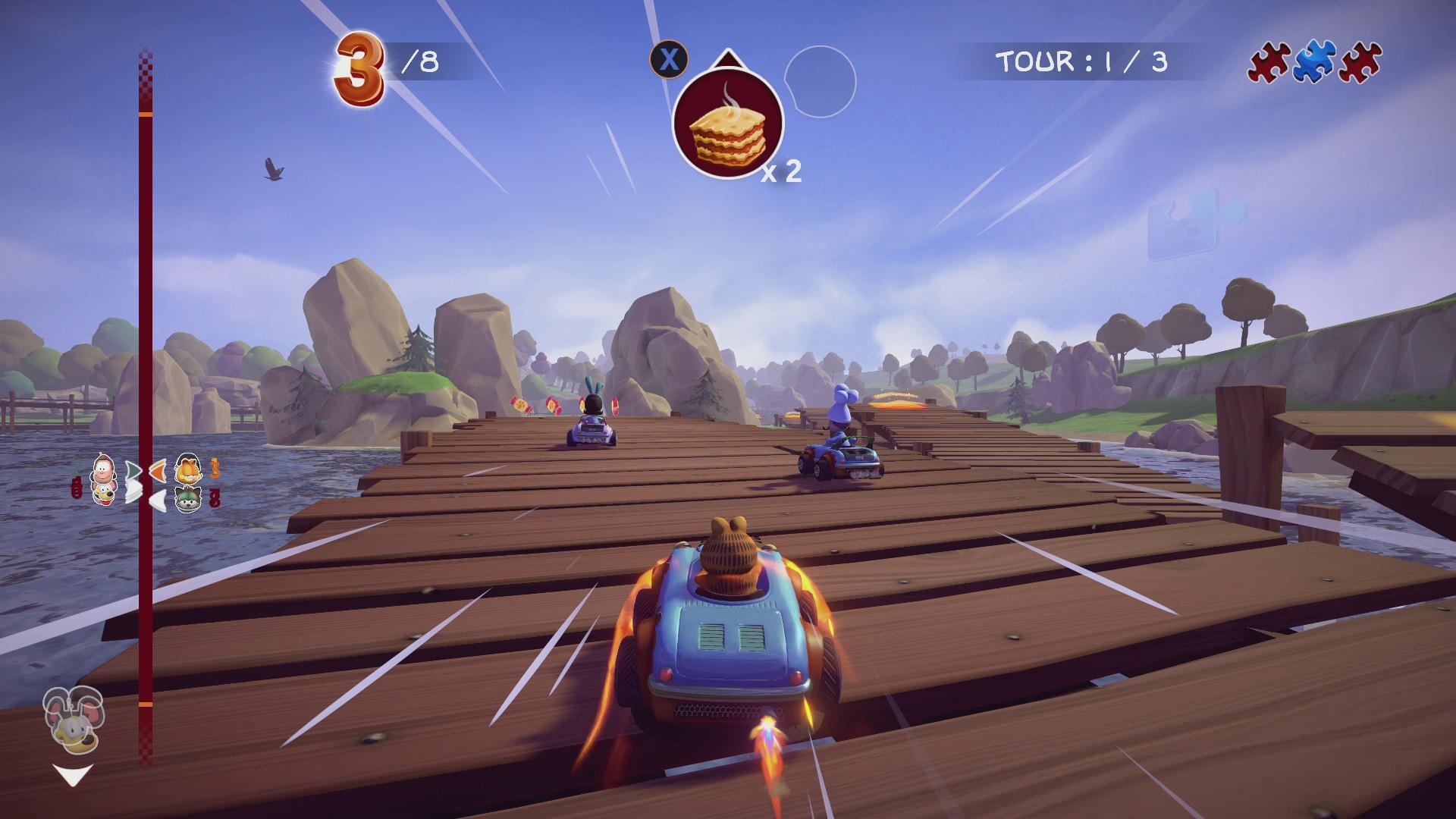 Garfield Kart Furious Racing (2)