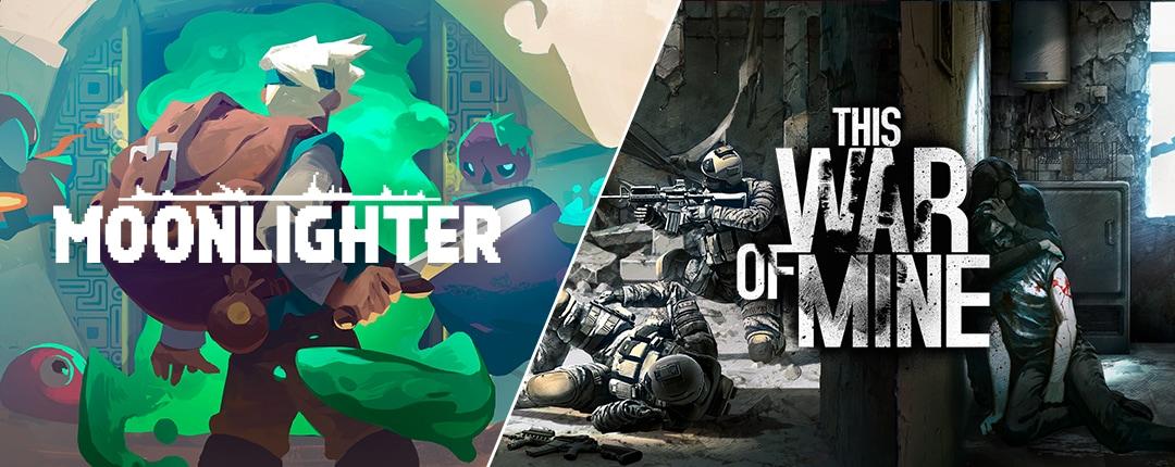 This War of Mine e Moonlighter gratis su Epic Games Store fino al 2 agosto (video)
