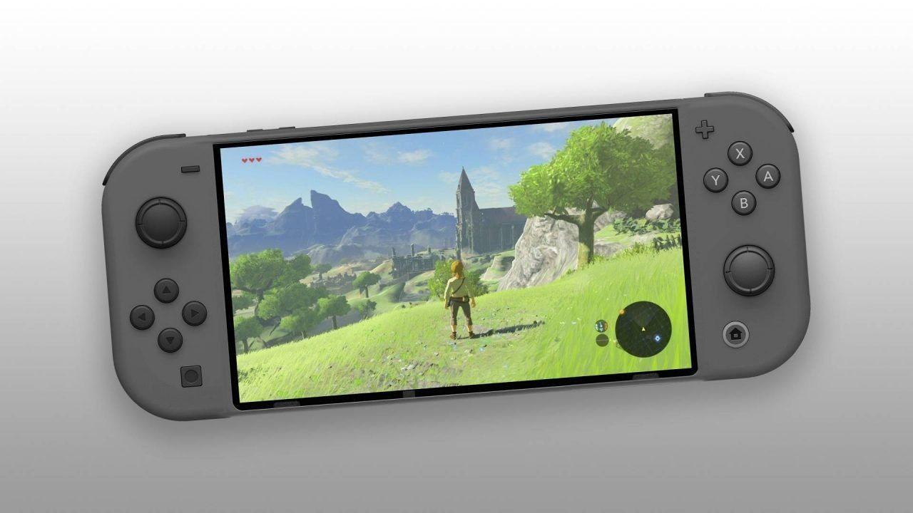 Nintendo Switch Mini: display full HD e migliore autonomia, perfetta per Google Stadia?