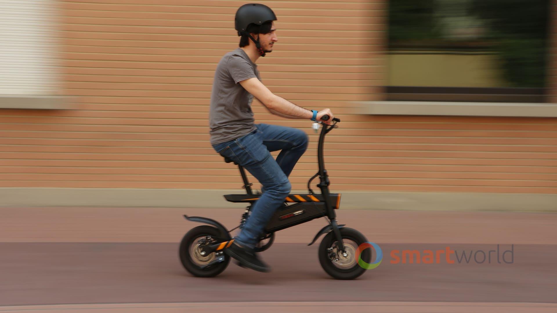 Recensione Ziyoujiguang T18 E Bike Autonomia Prezzo E