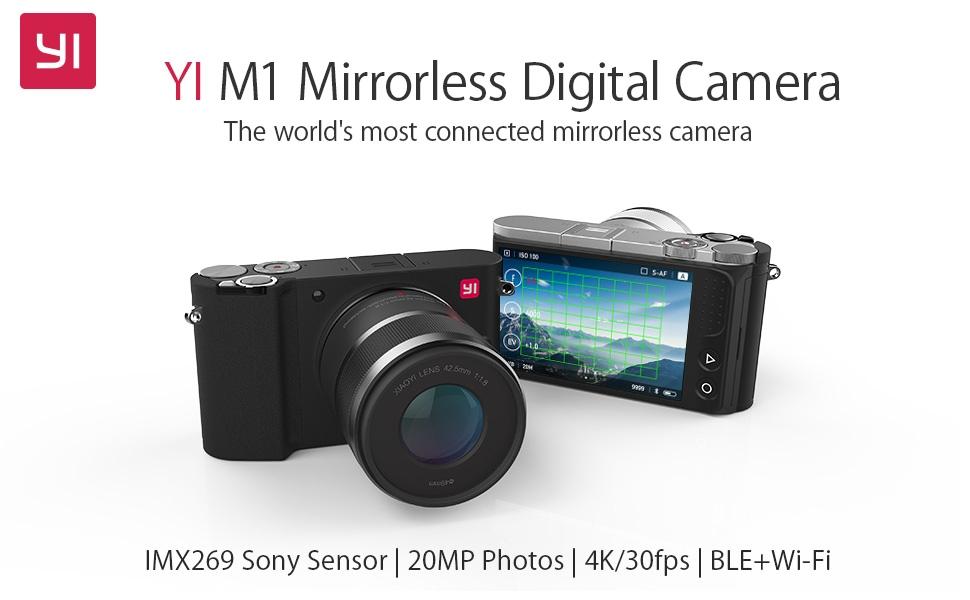 YI Mirrorless M1 in offerta a 229€ con questo codice sconto: una mirrorless per iniziare spendendo poco