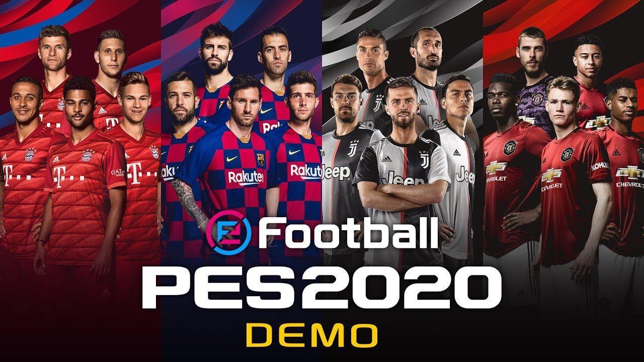 Konami rende disponibile la demo di eFootball PES 2020 e ne svela anche la copertina (foto e video)