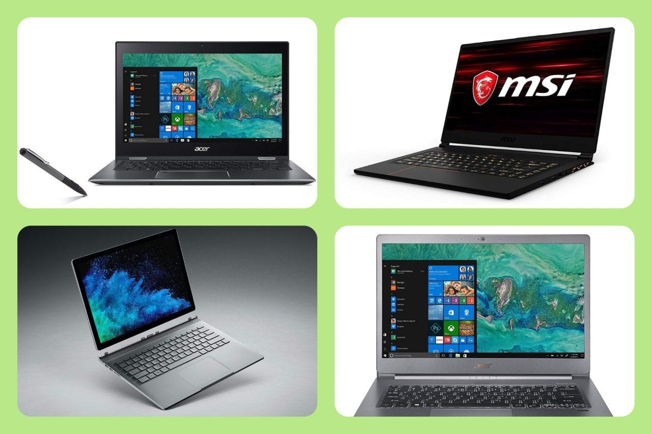 Offerte notebook niente male su Amazon: Surface Book 2, due Acer e un MSI da gaming al miglior prezzo