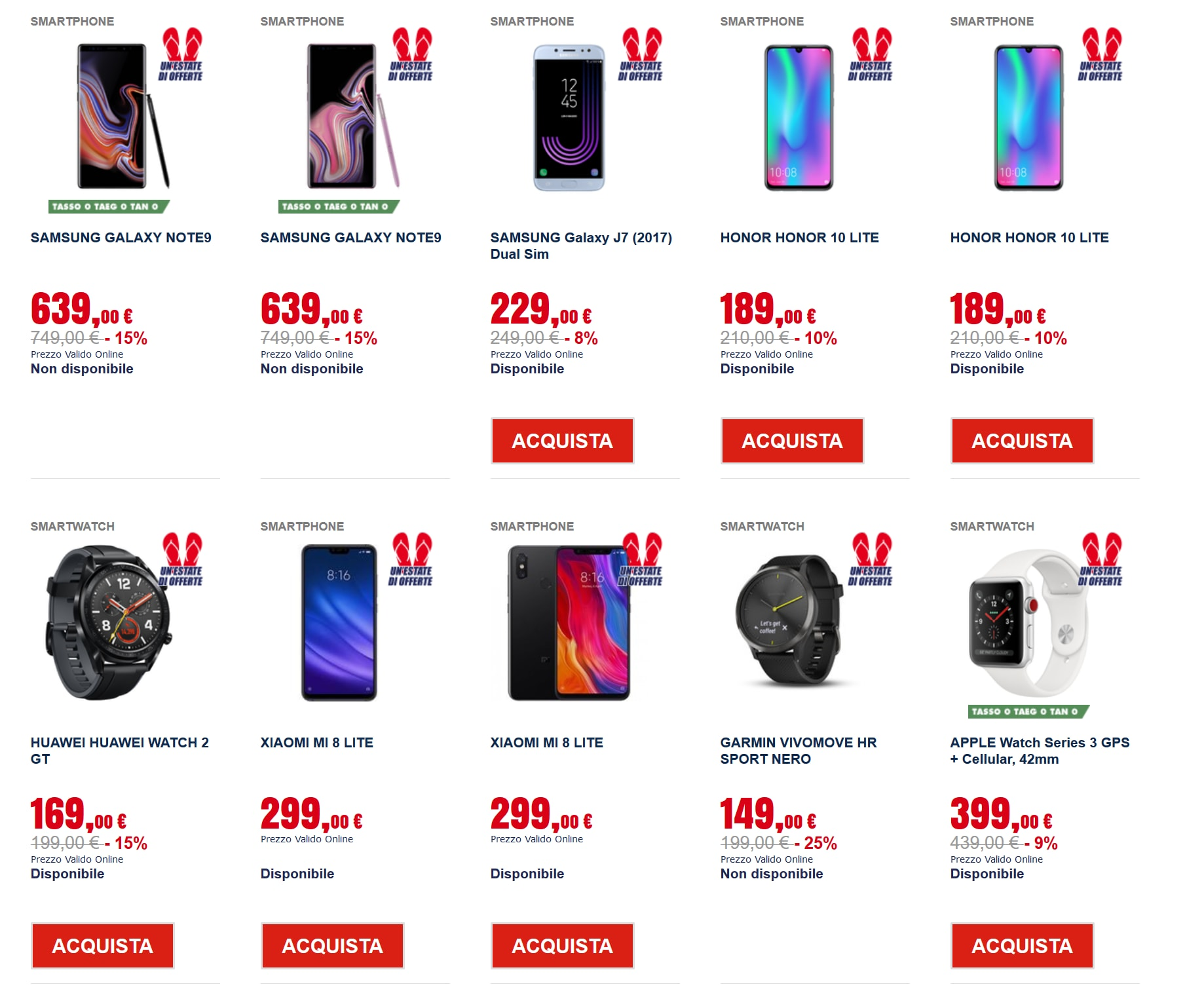 trony Happy Price smartphone