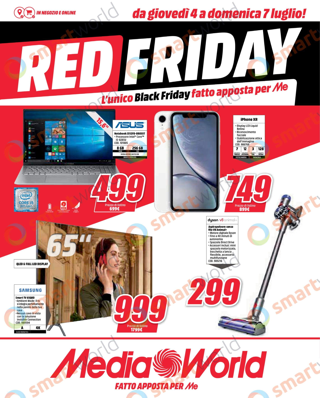 volantino mediaworld red friday 4 7 luglio 2019 (1)