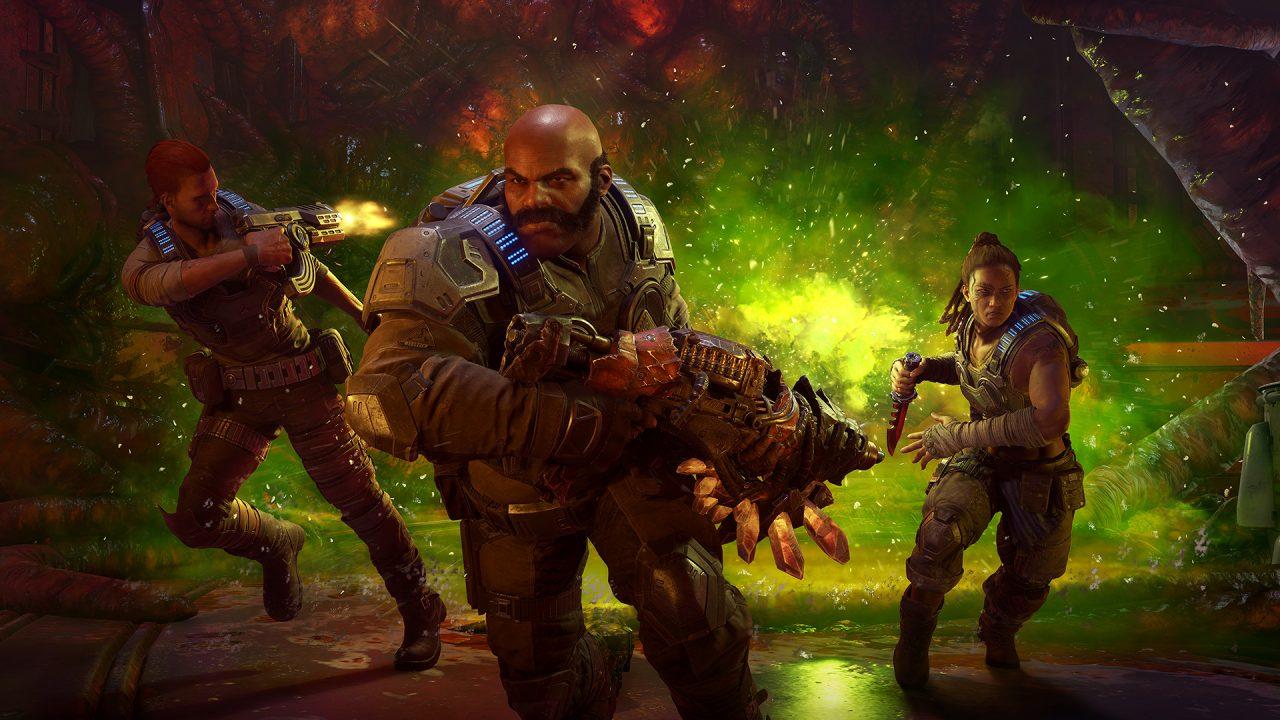 Novità Gears 5: prenotazioni Steam, modalità Orda, campagna e... pacchetto Halo!