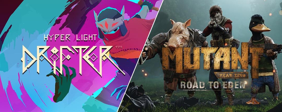 Mutant Year Zero e Hyper Light Drifter gratis su Epic Games Store fino al 22 agosto (video)
