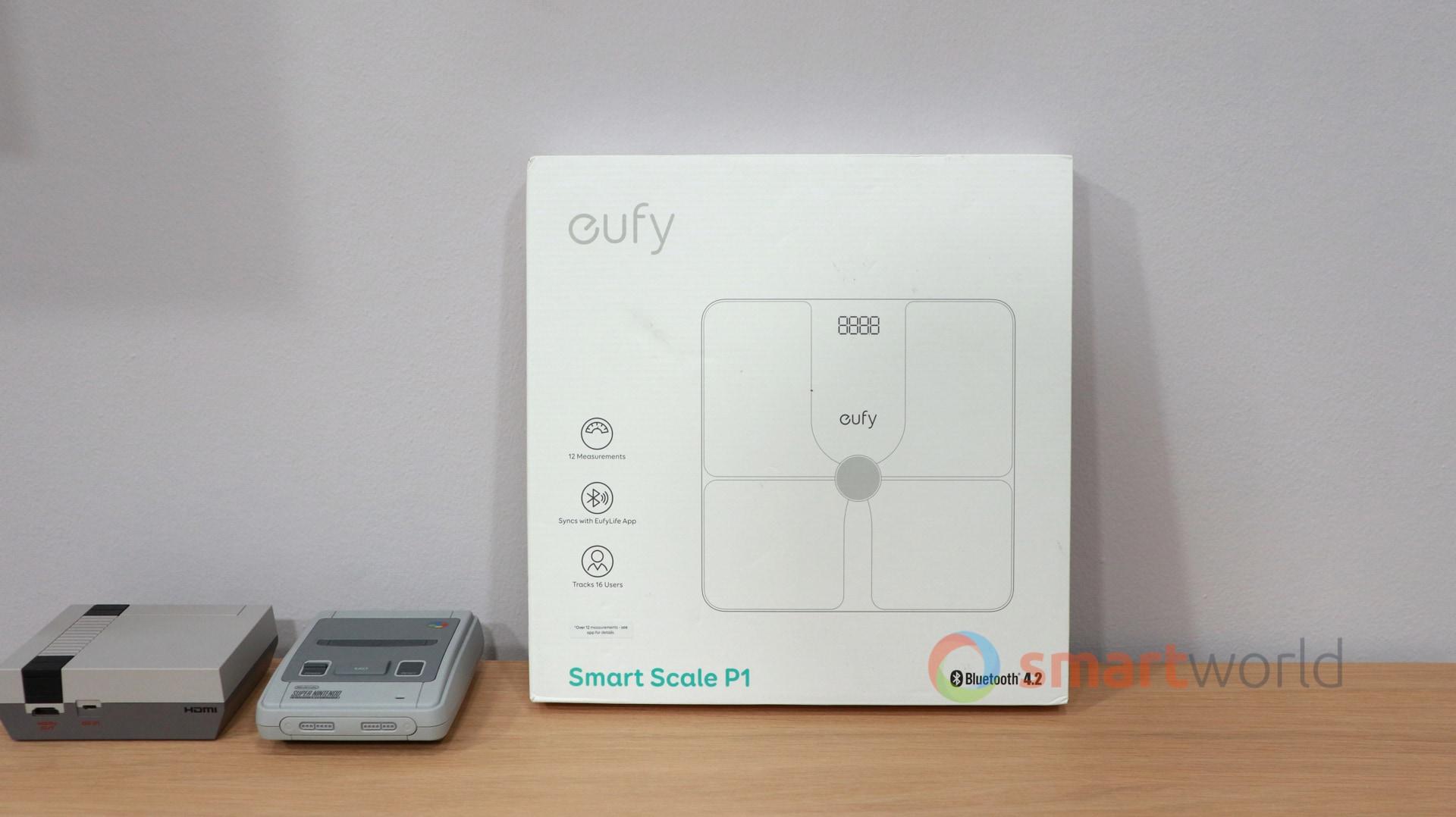 Recensione eufy Smart Scale P1 1