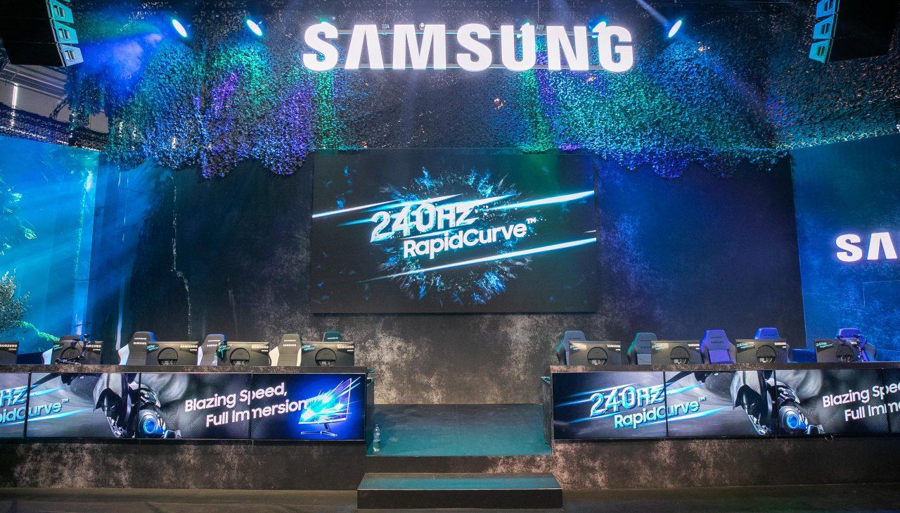 Tre nuovi monitor gaming di Samsung: uno è più grande della vostra TV! (foto)