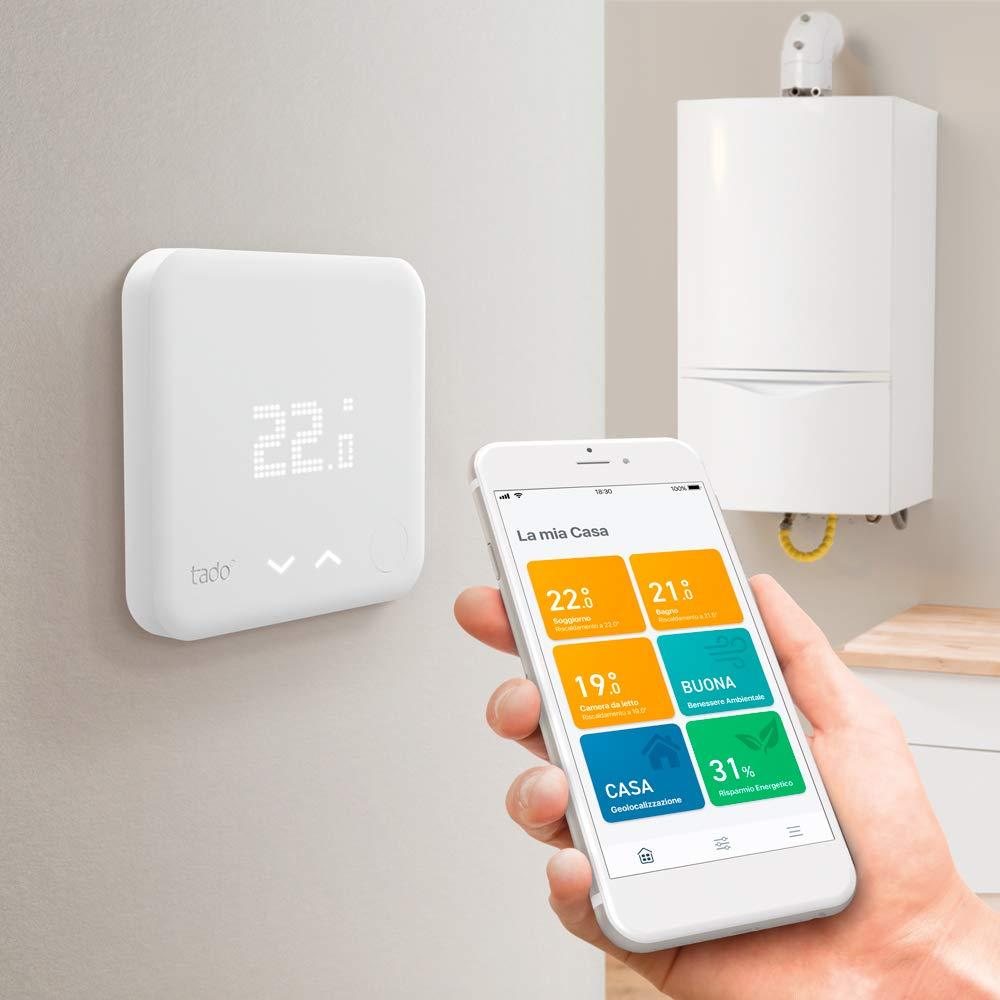 Volete una caldaia smart? Non perdetevi il termostasto Tado° in offerta lampo su Amazon