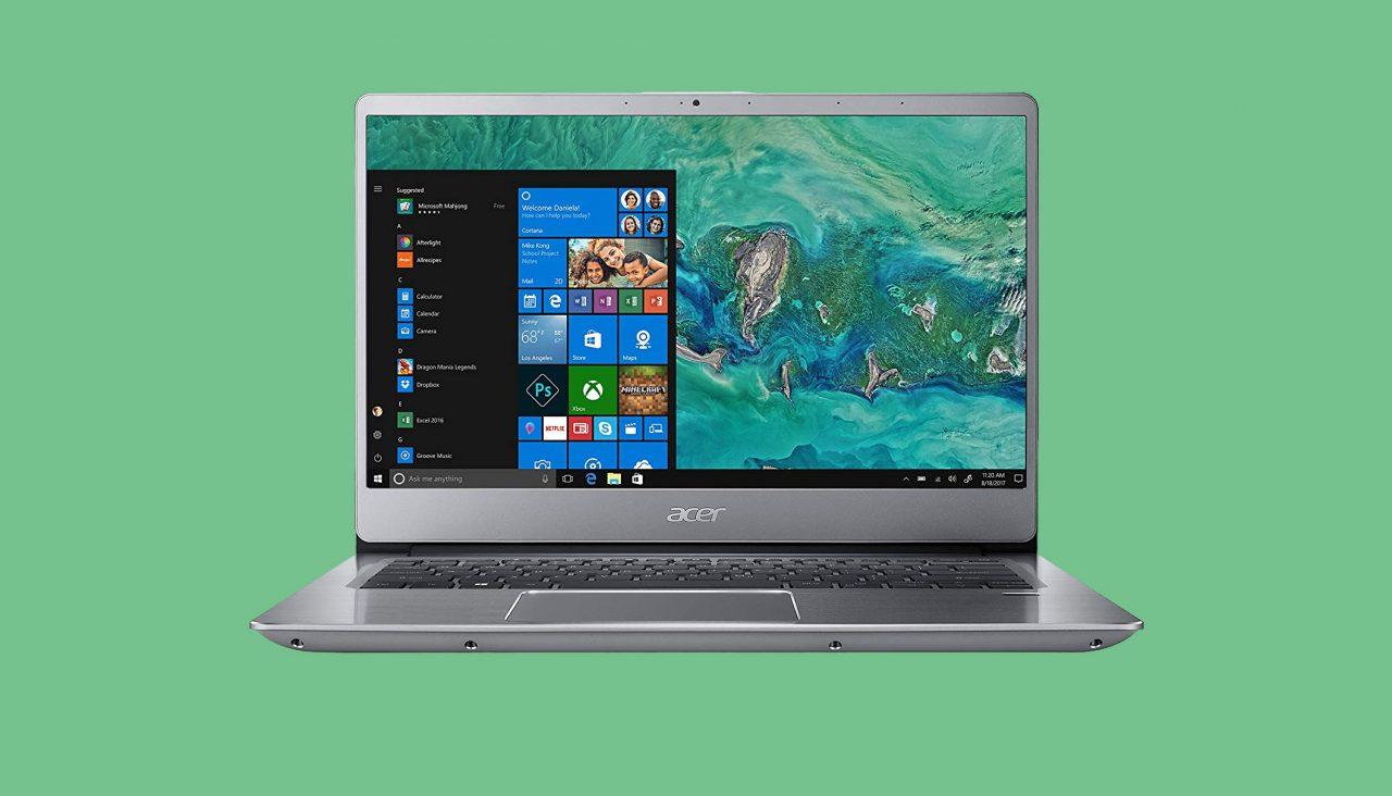 """Buon prezzo per Acer Swift 3, notebook da 14"""" in sconto a 549€"""
