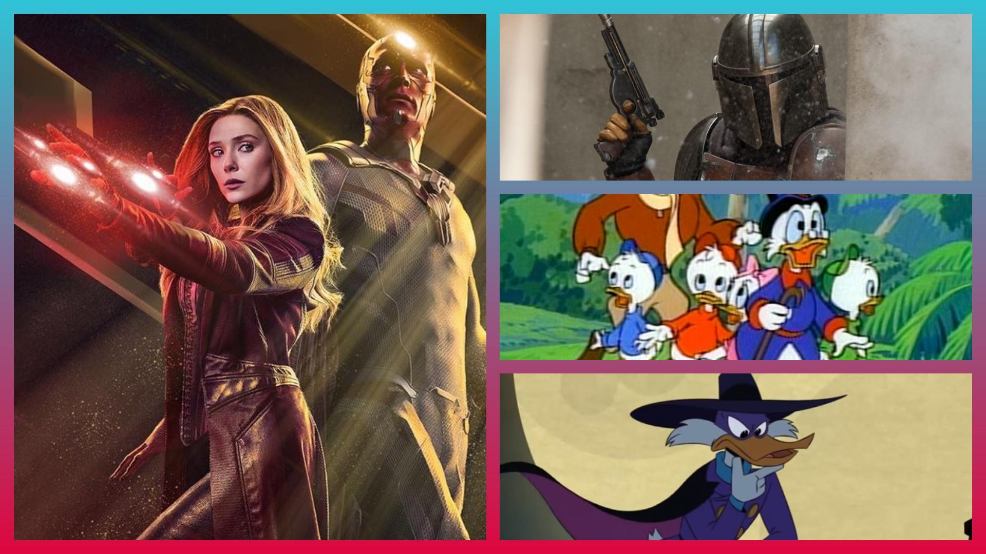 Il catalogo di Disney+: dai grandi classici (Darkwing Duck, Ducktales) alle novità (Marvel, Star Wars)
