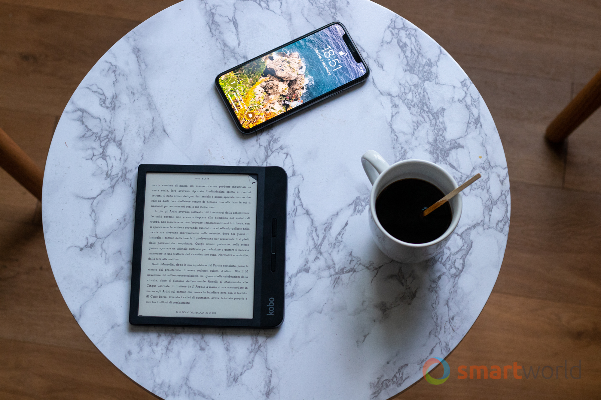 Kobo Libra H2O in SCONTO a 149€: il punto di riferimento per gli ebook reader - image  on https://www.zxbyte.com