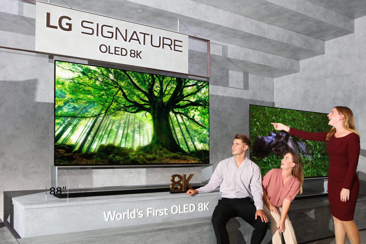 I primi TV OLED e NanoCell 8K di LG stanno per arrivare in vendita, ma noi dovremo aspettare ancora (foto)