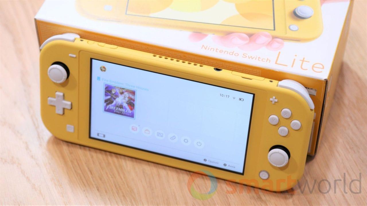 Nintendo Switch Lite, unboxing e primo avvio (foto e video)