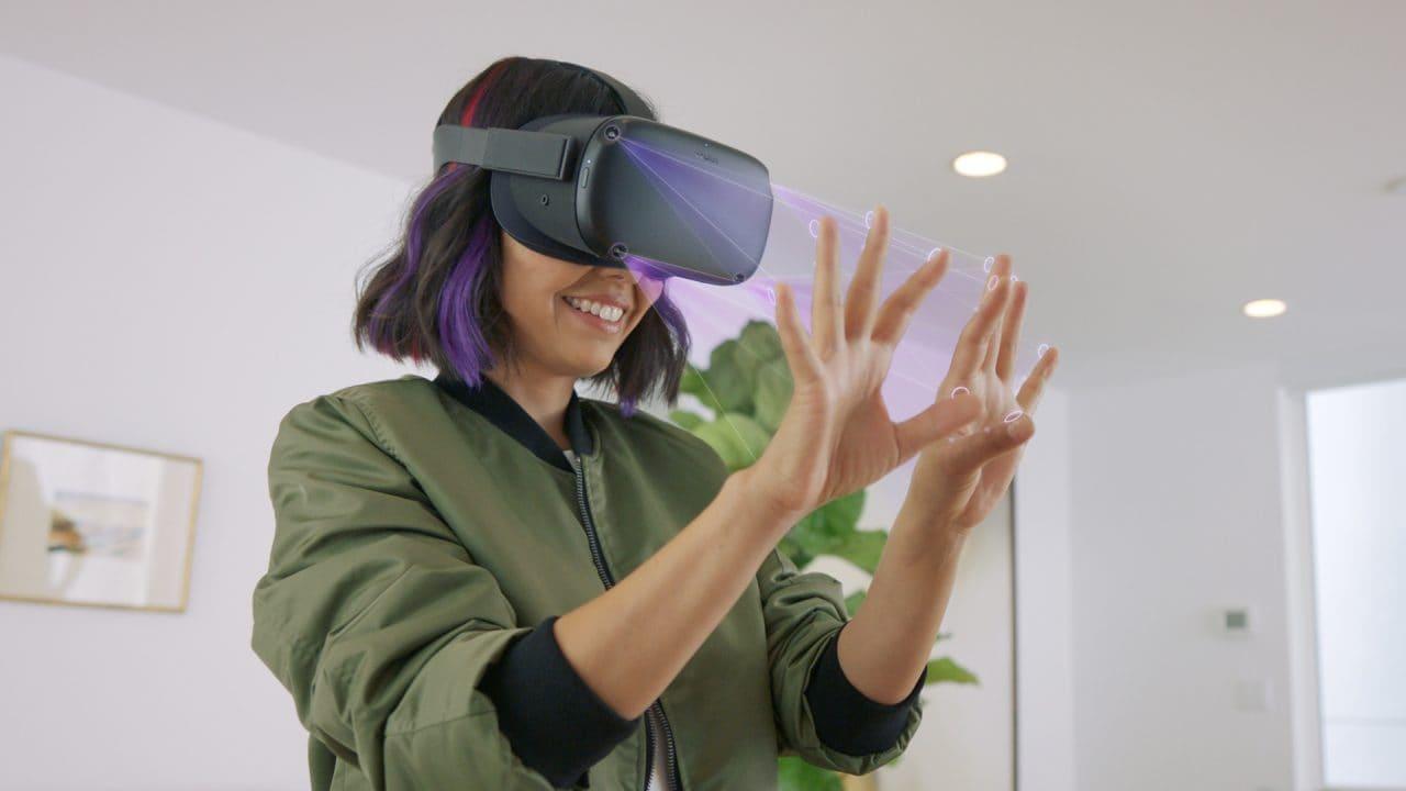 Oculus Connect 6, valanga di novità: via i controller, si gioca con le mani; giochi Rift su Oculus Quest e tanto altro