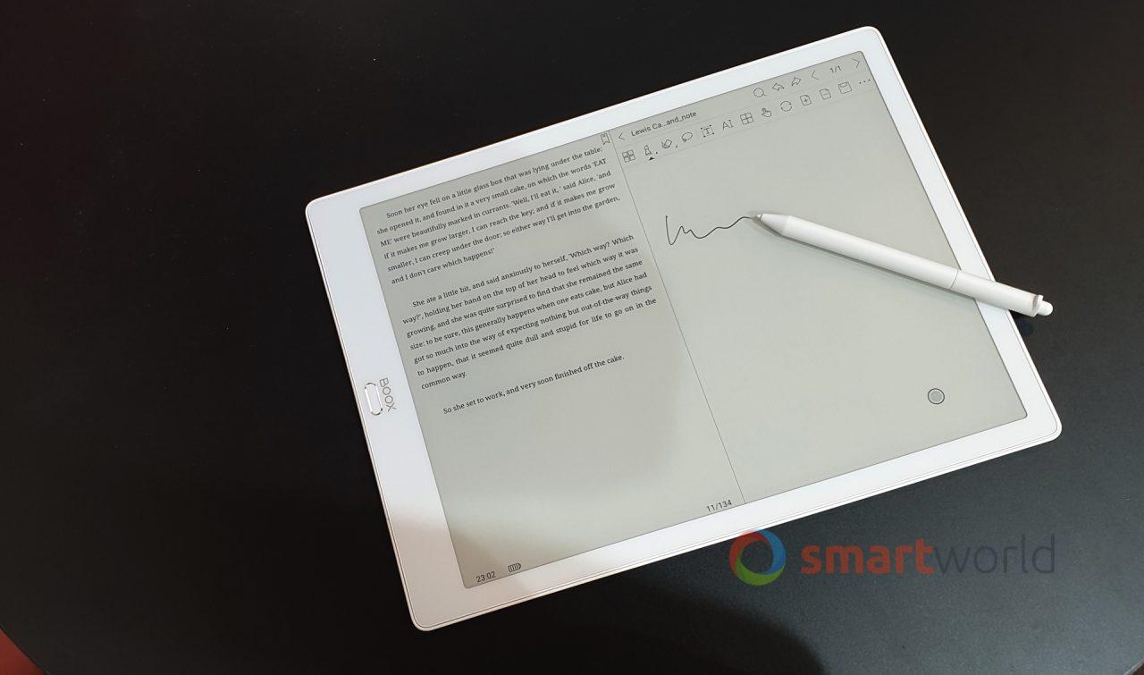 """Il gigantesco BOOX Max3 arriva in Italia: chi vuole un quaderno digitale da 13""""?"""