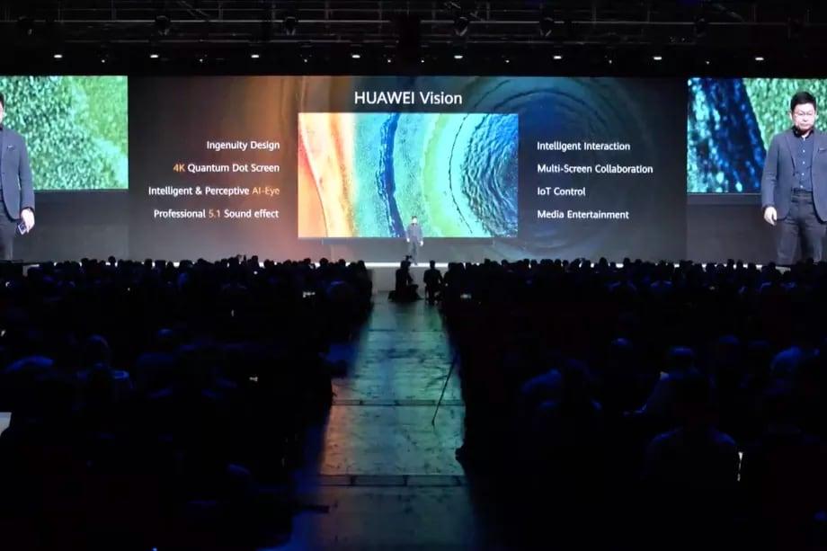 La nuova Huawei Vision TV è ufficiale: 4K e tanta intelligenza artificiale (foto)