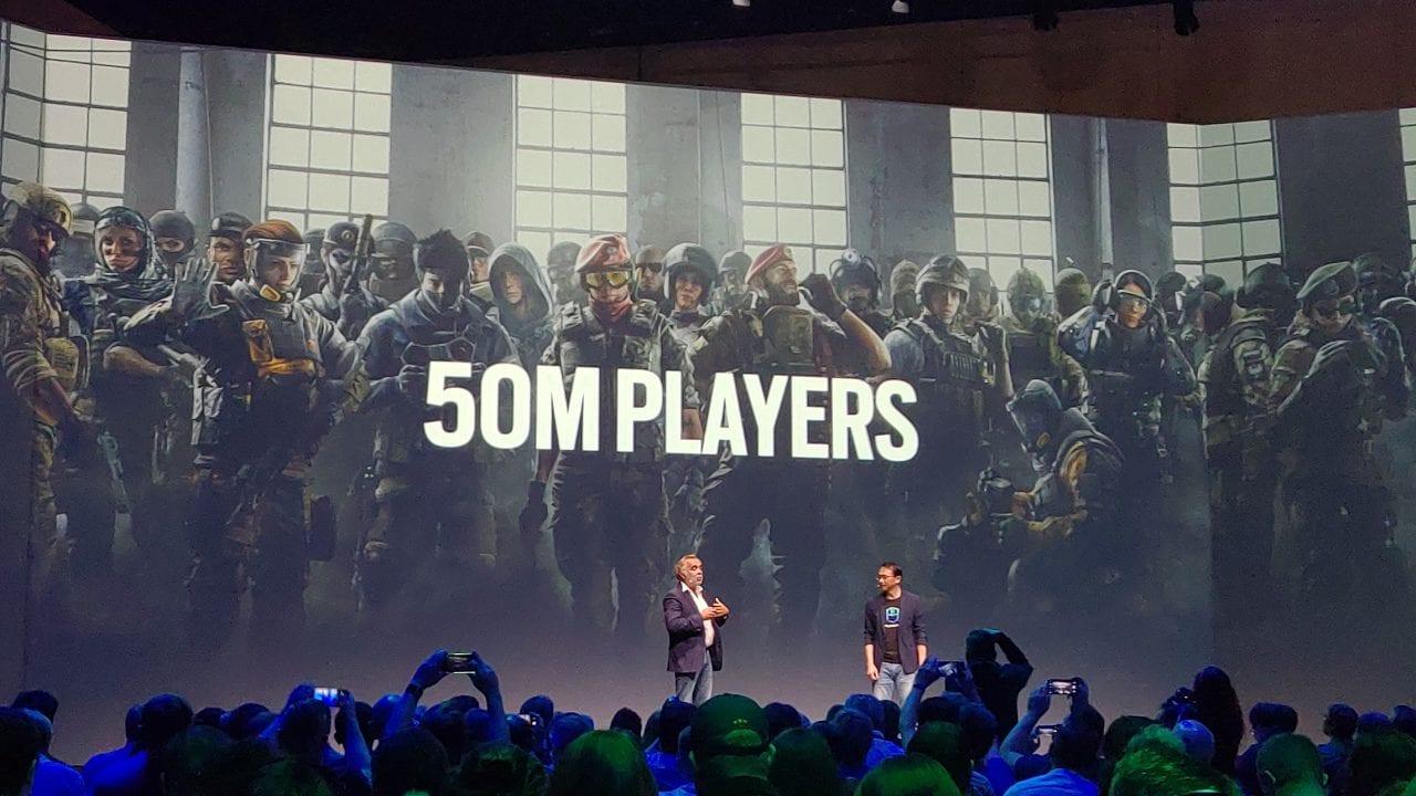Rainbow Six Siege raggiunge i 50 milioni di giocatori in tutto il mondo
