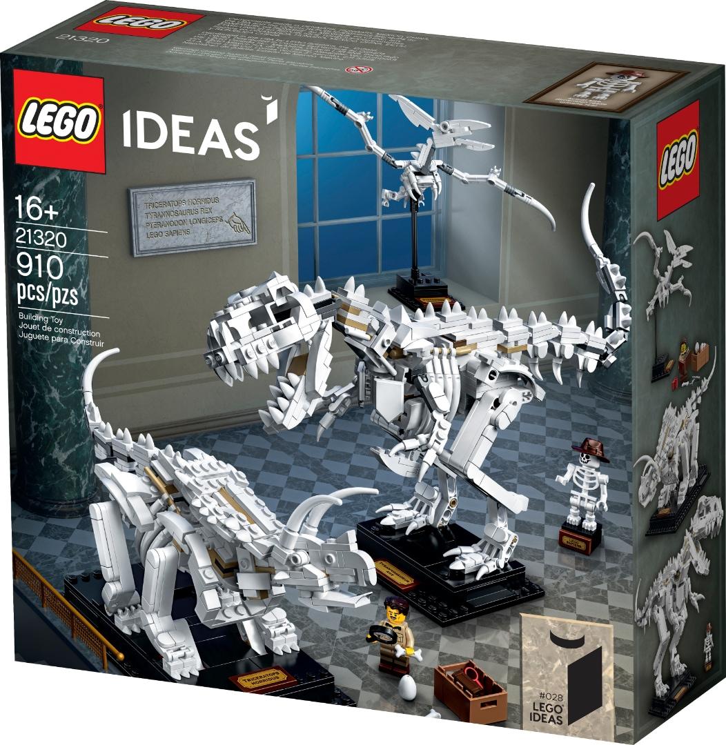 Quanto è nerd il nuovo set LEGO di fossili di dinosauri con tanto di esploratore e LEGO Sapiens? (foto)
