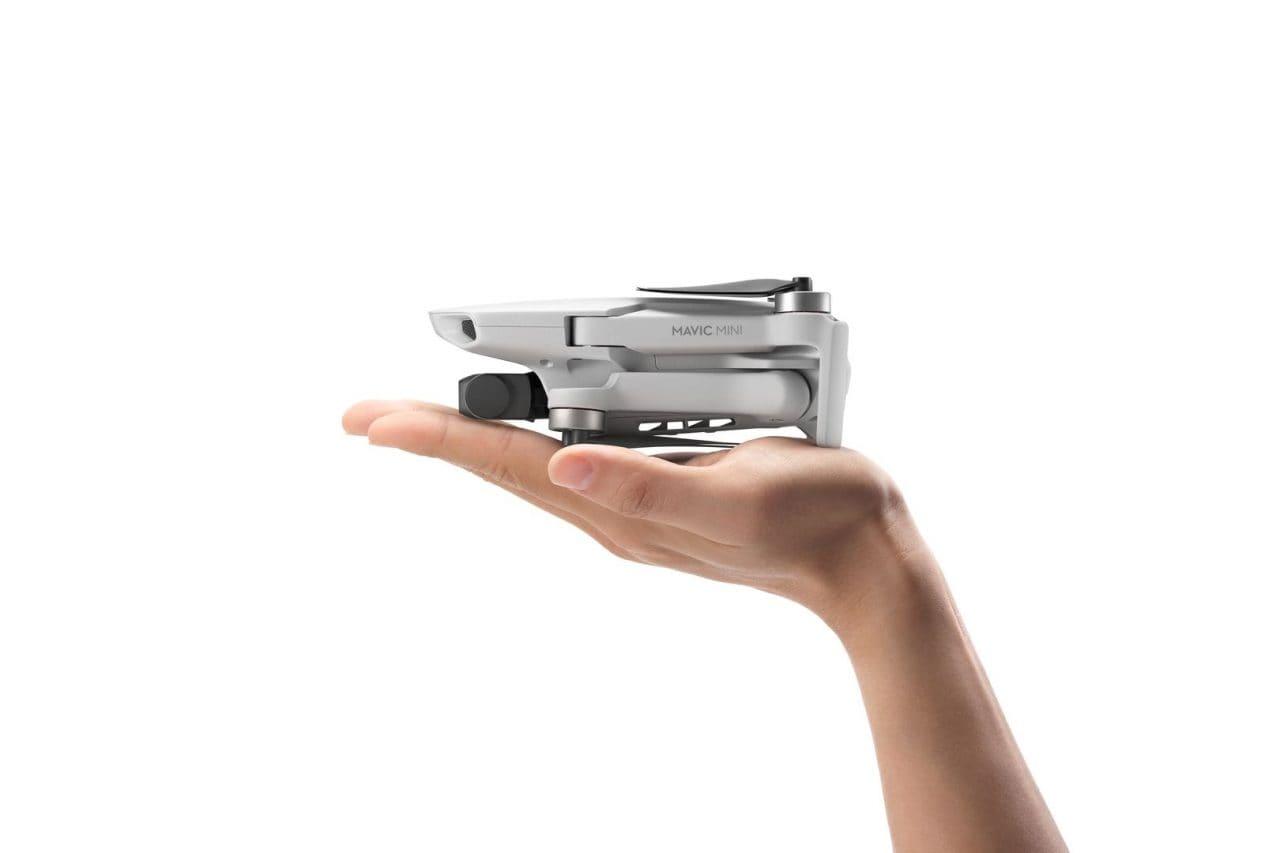DJI presenta Mavic Mini, il drone pieghevole ultra leggero da portare sempre con voi
