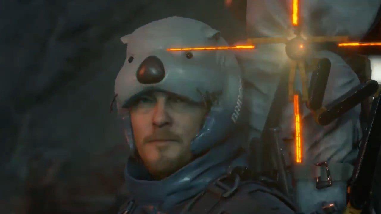 In Death Stranding c'è Conan O'Brien che regala il cappello Lontra per nuotare meglio (video)