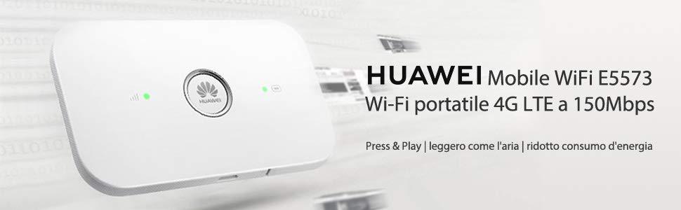 Questo piccolo router 4G di Huawei costa 43€ in offerta speciale su Amazon - image Huawei-E5573Cs-322-router on https://www.zxbyte.com
