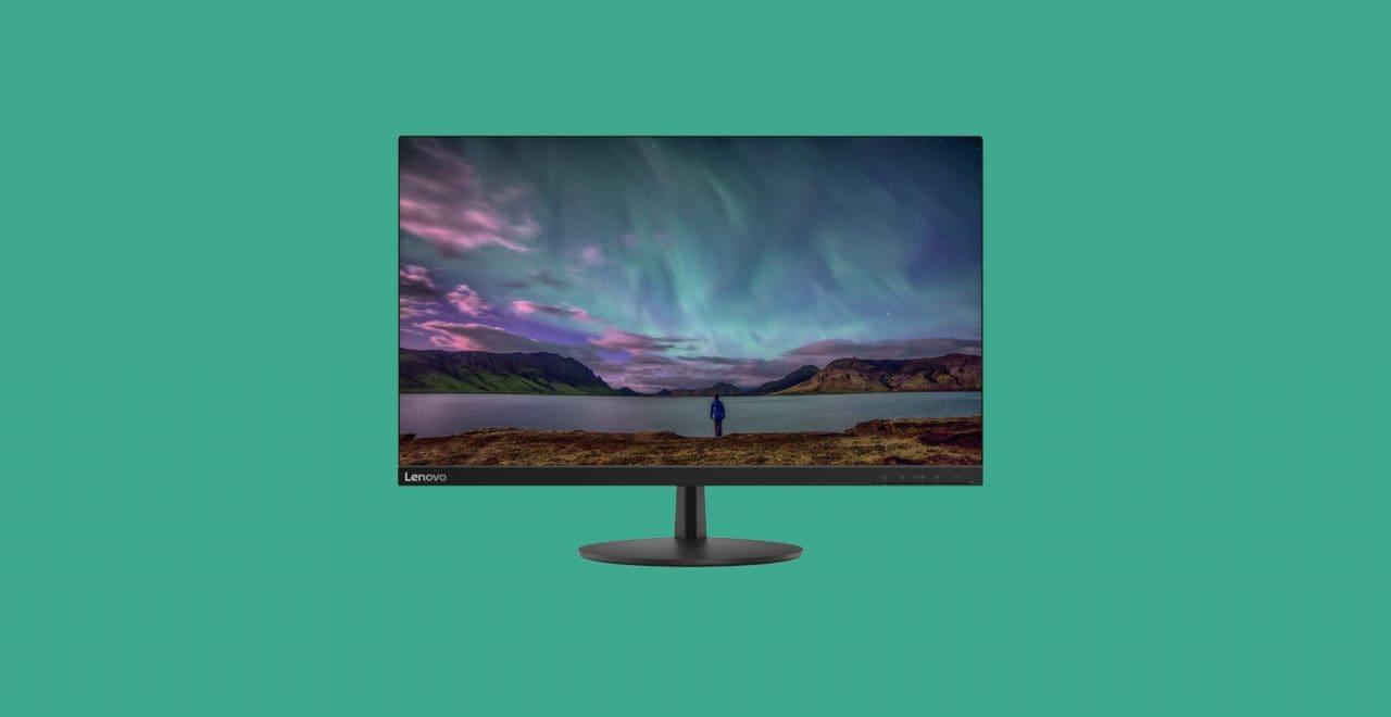 Sconto su sconto per i monitor Lenovo: due modelli perfetti per casa e ufficio a partire da 95€