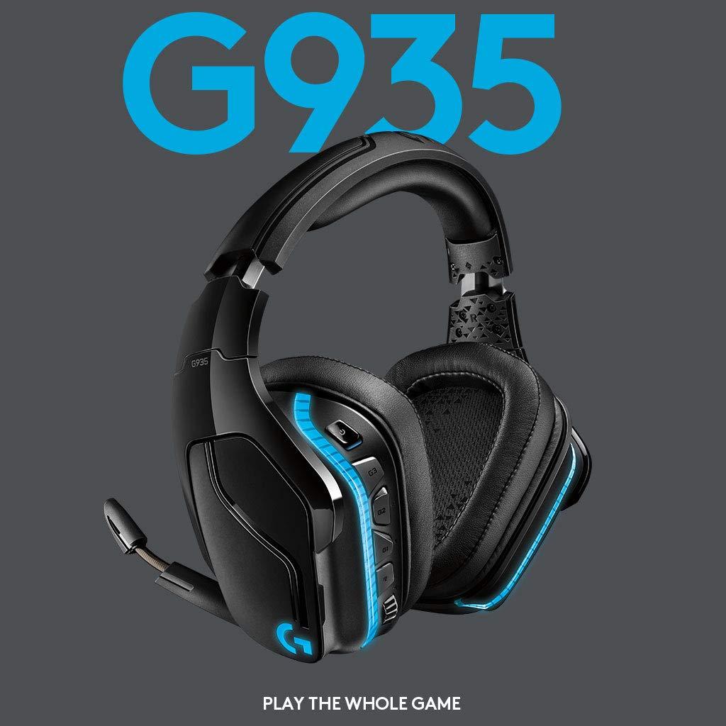 Logitech G935 al prezzo più basso di sempre: cuffie gaming wireless al top!