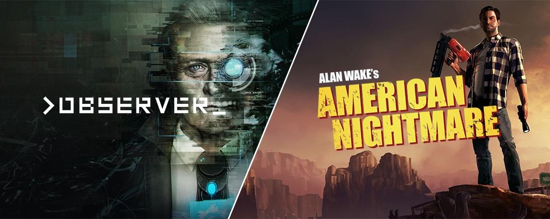 Observer e Alan Wake: American Nightmare gratis su Epic Games Store fino al 24 ottobre (video)