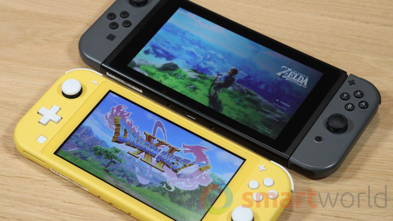 Il nuovo firmware di Nintendo Switch svela la presenza di un nuovo modello: che sia l'attesissima variante Pro?