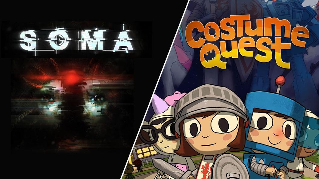 SOMA e Costume Quest gratis su Epic Games Store fino al 7 novembre (video)