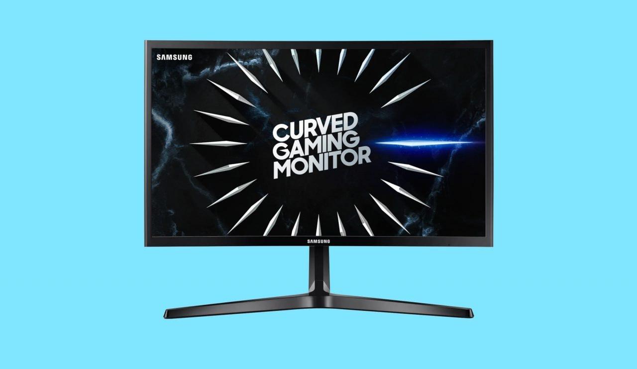 Monitor curvo Samsung in offerta a 182€ su Amazon: per giocare ma non solo