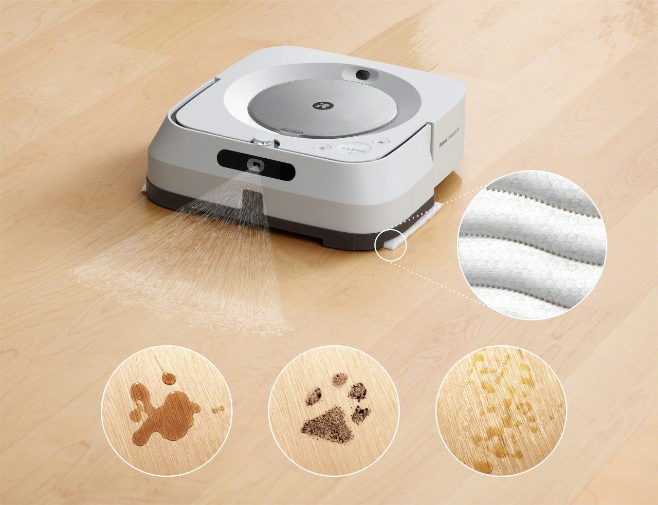Il dinamico duo che aspira e pulisce: iRobot Roomba i7+ e Braava jet m6