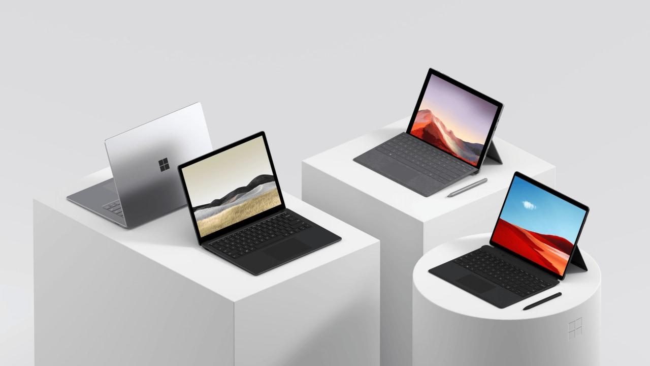 Interessati a Surface Pro 7, Pro X o Laptop 3? Microsoft vi dà fino a 600€ per il vostro vecchio notebook