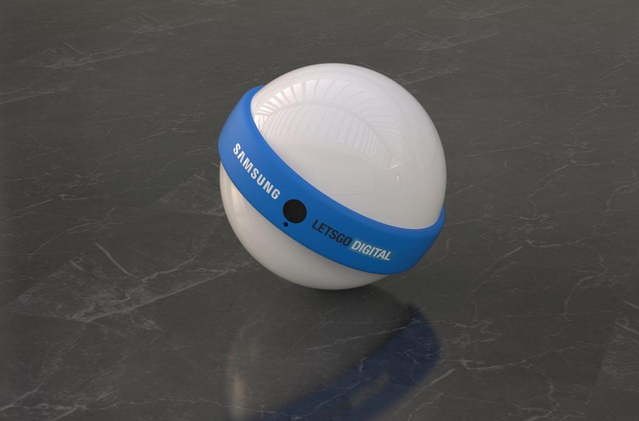 Somiglia a BB-8, ma è pure meglio: Samsung pensa ad un robot sferico con speaker, fotocamera e Bixby! (foto)