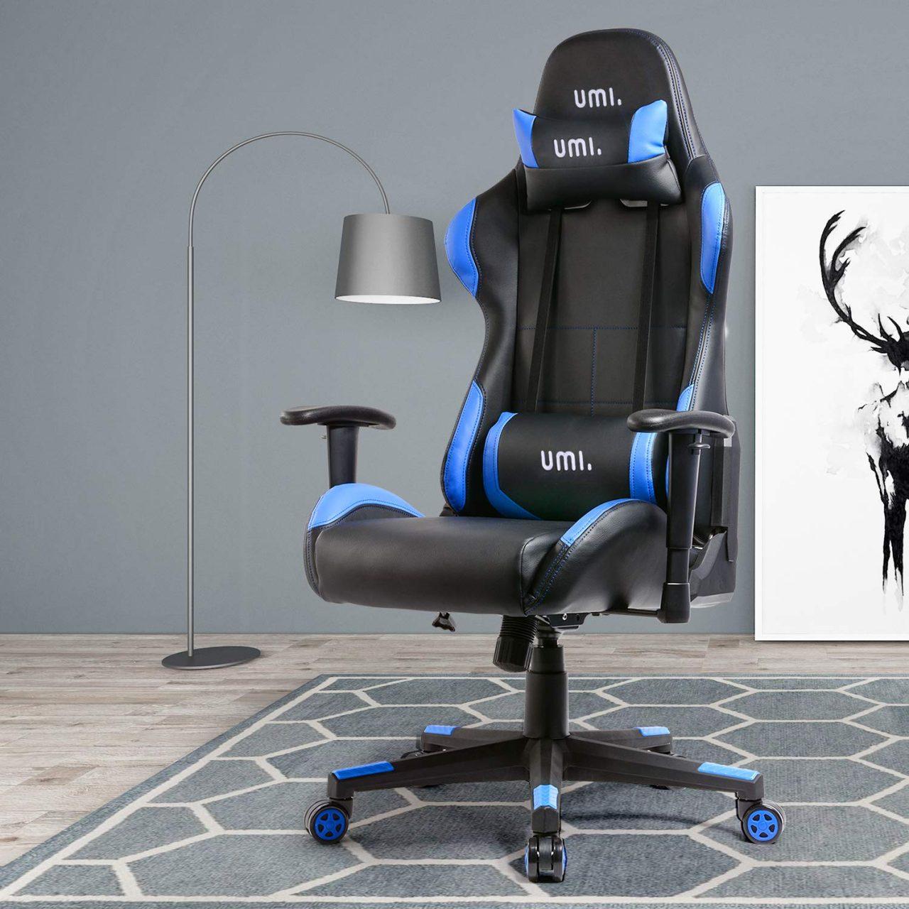 Offerta lampo Amazon: mettetevi comodi con la sedia da gaming Umi a 119€