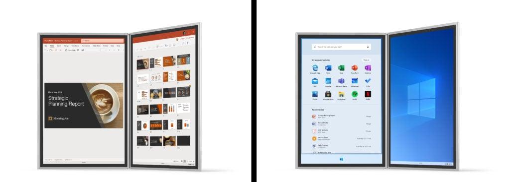 Windows 10X ufficiale: ecco il sistema operativo per i PC dual screen e pieghevoli del 2020
