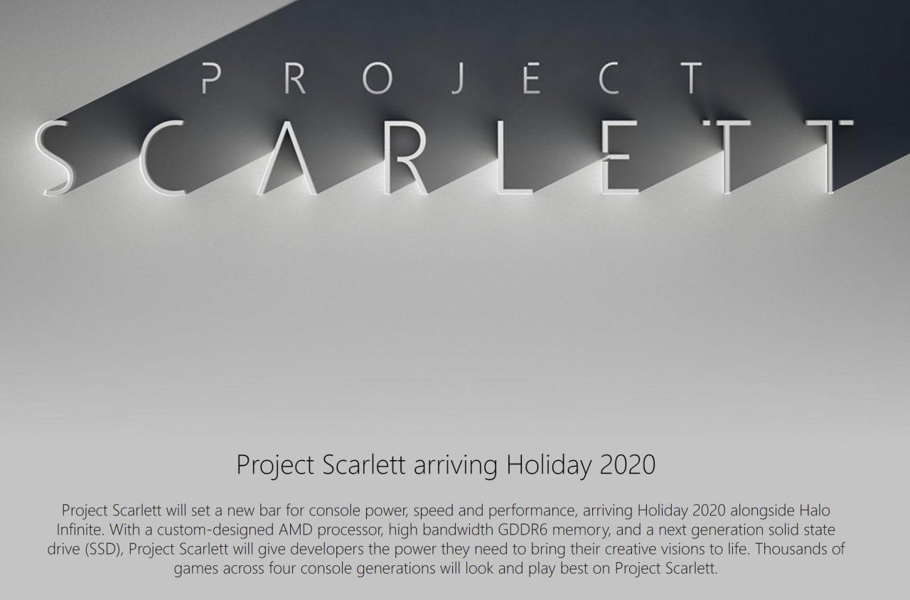 Sempre più conferme: Xbox Scarlett sarà retro compatibile con tutte le quattro generazioni precedenti (foto)