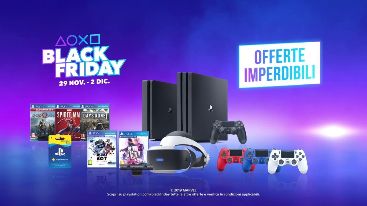 Cyber Monday PlayStation: sconti su PS4, PS4 Pro, PS VR, DualShock (aggiornato)