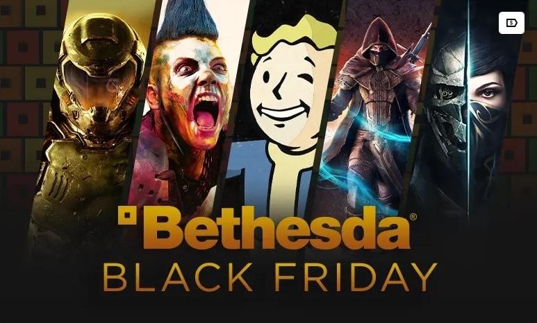 I giochi Bethesda in saldo per il Black Friday: sconti fino al 75%