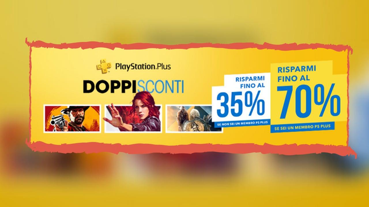 10 tra i migliori giochi PS4 in offerta con i Doppi Sconti!