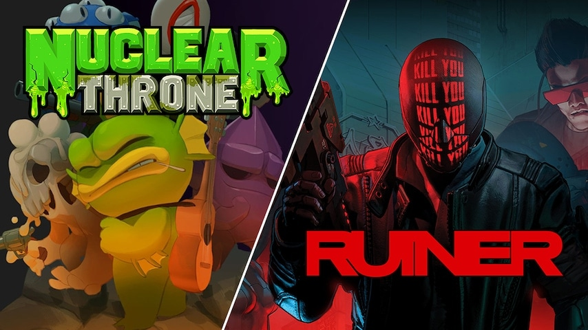 RUINER e Nuclear Throne gratis su Epic Games Store fino al 14 novembre (video)