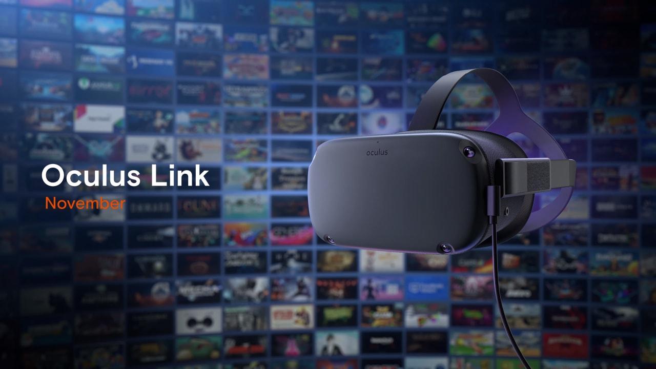 Oculus Link disponibile in beta: trasformate il vostro Quest in un Rift!