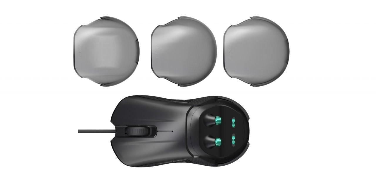 Nacon lancia un mouse gaming modulare anche per mancini e una sedia gaming economica