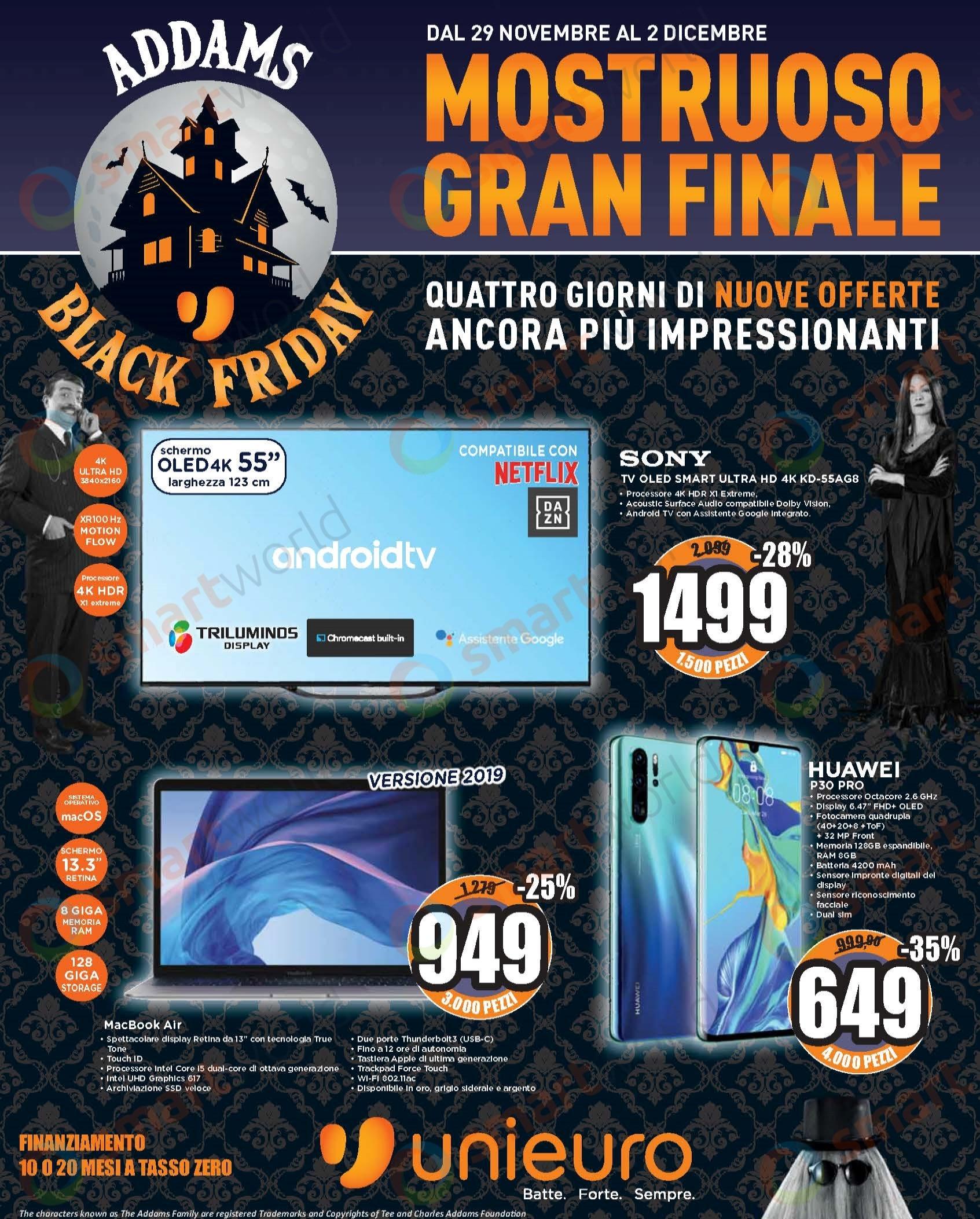 Volantino unieuro black friday gran finale (1)